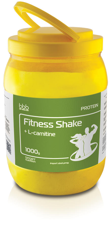 Fitness Shake Protein + L-carnitine